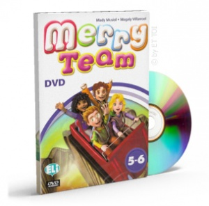 MERRY TEAM DVD (level 5-6)