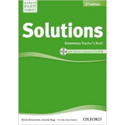 SOLUTIONS 2ED ELEM TB & CD-ROM PACK