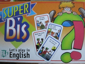 GAMES: SUPER BIS ENGLISH (Lev: A2)