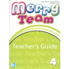 MERRY TEAM 4 Teacher's Guide + class CDs