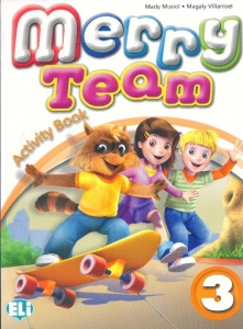 MERRY TEAM 3 Activity Book + audio CD