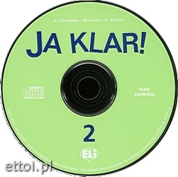 JA KLAR! 2 AUDIO CD