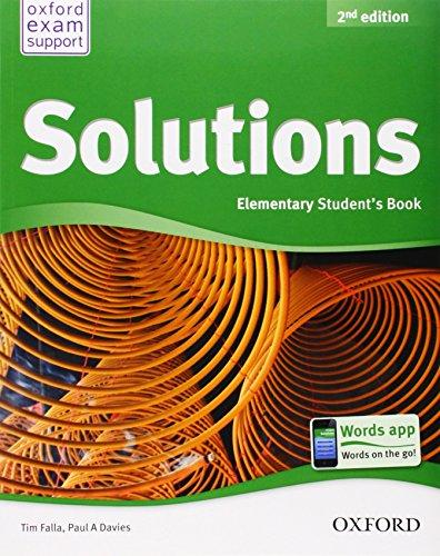 Solutions Elementary 2nd Ed Students Book