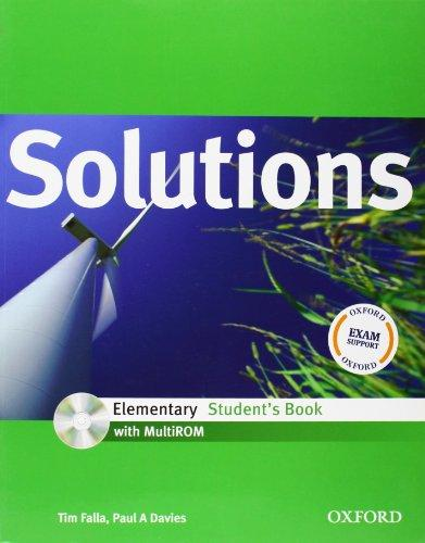 Solutions Elementary Students Book