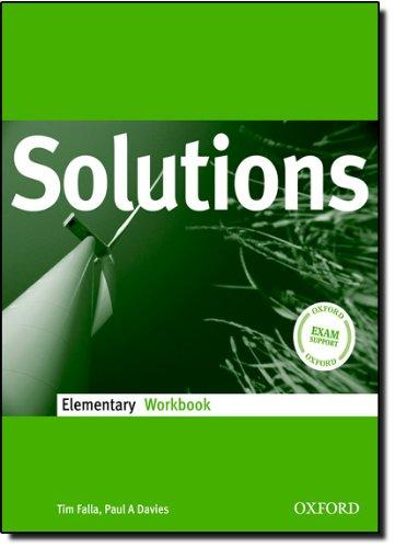 Solutions Elementary WorkBook