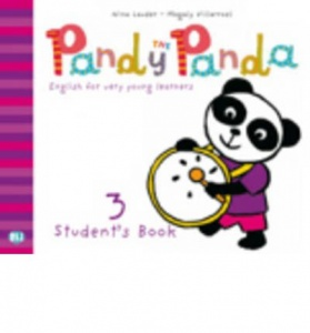 PANDY THE PANDA 3 Pupil's Book + song audio-CD