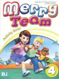 MERRY TEAM 4 Activity Book + audio CD
