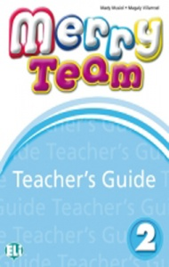 MERRY TEAM 2 Teacher's Guide + class CD