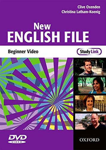 ENGLISH FILE BEGIN NEW DVD
