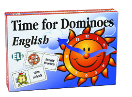 GAMES: TIME FOR DOMINOES ENGLISH (Lev: A1-A2)