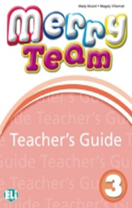 MERRY TEAM 3 Teacher's Guide + class CDs