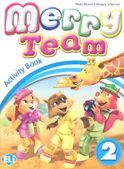 MERRY TEAM 2 Activity Book + audio CD