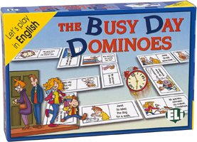 GAMES: THE BUSY DAY DOMINOES (Lev: A2-B1)