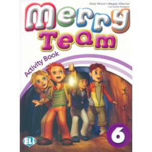 MERRY TEAM 6 Activity Book + audio CD